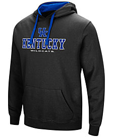 Colosseum Men's Kentucky Wildcats 3 Stack Logo Hoodie
