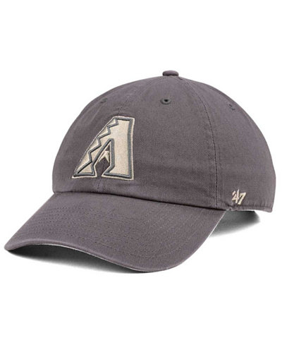 '47 Brand Arizona Diamondbacks Dark Gray CLEAN UP Cap