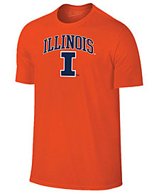 Retro Brand Men's Illinois Fighting Illini Midsize T-Shirt