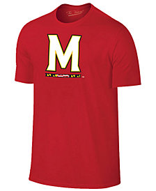 New Agenda Men's Maryland Terrapins Big Logo T-Shirt