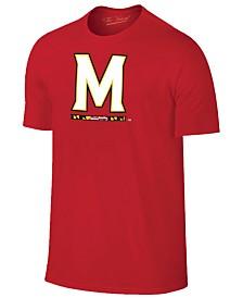 New Agenda Men's Maryland Terrapins Big Logo T-Shirt