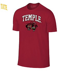 Retro Brand Men's Temple Owls Midsize T-Shirt
