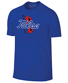 New Agenda Men's Tulsa Golden Hurricane Big Logo T-Shirt