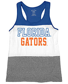 Blue 84 Women's Florida Gators Racerback Panel Tank Top