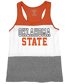 Blue 84 Women's Oklahoma State Cowboys Racerback Panel Tank Top
