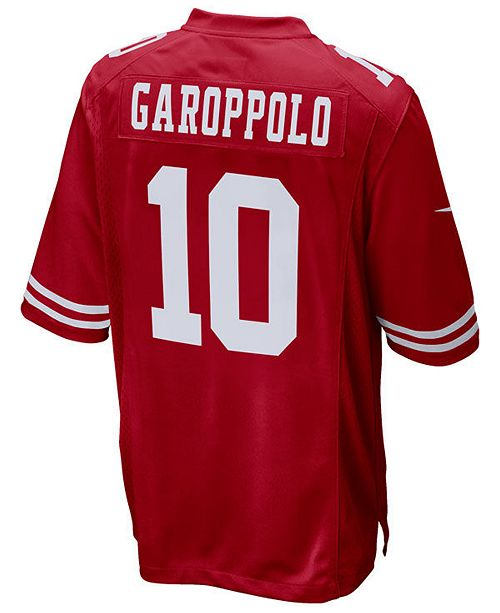68b5b01dc Nike Men s Jimmy Garoppolo San Francisco 49ers Game Jersey   Reviews ...