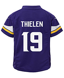 Nike Adam Thielen Minnesota Vikings Game Jersey, Little Boys (4-7)