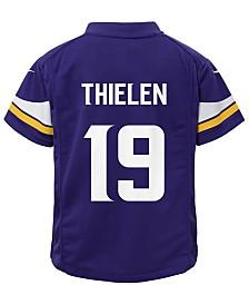 Nike Adam Thielen Minnesota Vikings Game Jersey, Little Boys (4-7)