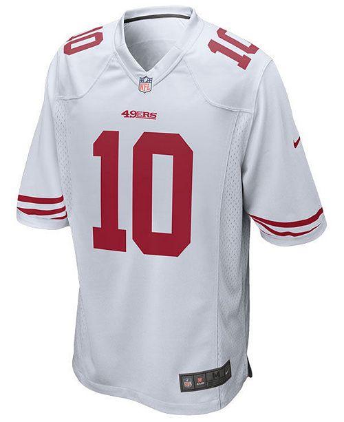 5ef753345 Nike Men s Jimmy Garoppolo San Francisco 49ers Game Jersey   Reviews ...