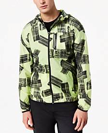 Lacoste Men's Graphic-Print Ripstop Windbreaker