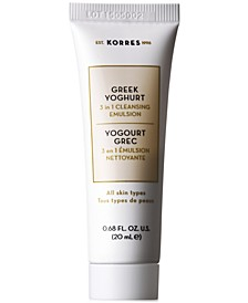 Receive a Free Greek Yoghurt 3 in 1 Cleansing Emulsion, 20ml with any $35 Purchase