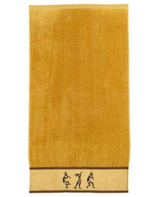 Kokopelli Cotton Bath Towel