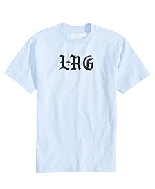 LRG Men's High Low Logo T-Shirt