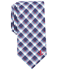 Nautica Men's Naval Plaid Tie