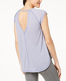 Calvin Klein Performance V-Back Open-Sides T-Shirt