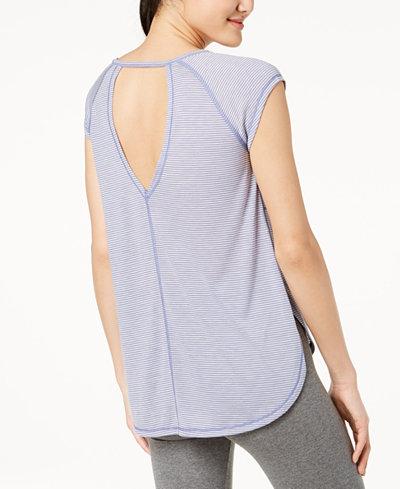 Calvin Klein Performance V-Back Open-Sides T-Shirt
