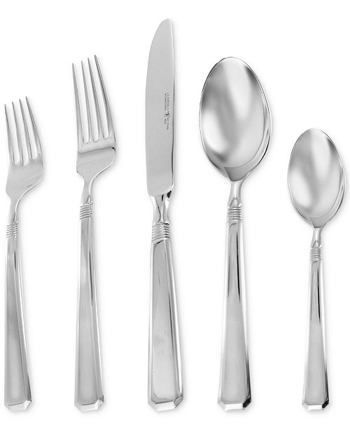 Ja Henckels Zwilling Metrona 1810 Stainless Steel 62 Pc Flatware