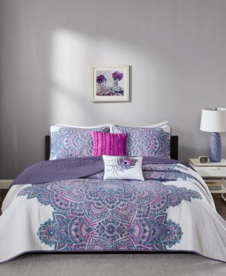Mila 4-Pc. Twin/Twin XL Coverlet Set