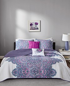 Intelligent Design Mila 5-Pc. Full/Queen Coverlet Set
