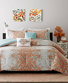 Intelligent Design Minet 5-Pc. Reversible Full/Queen Comforter Set
