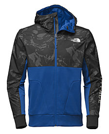 The North Face Men's Printed Full-Zip Fleece Hooded Jacket
