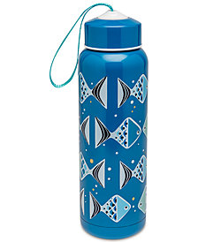 Vera Bradley Go Fish Teal Water Bottle