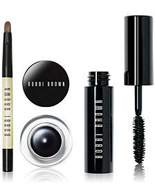 Bobbi Brown 3-Pc. Blackest Black Liner & Mascara Set, Created for Macy's