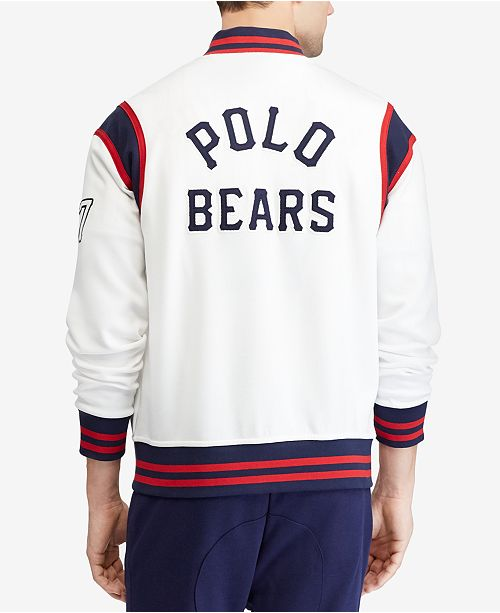 Lauren Bear Ralph Baseball JacketCreated For Men's Polo qMGULSpzV