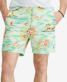"Polo Ralph Lauren Men's Big & Tall Classic Fit Stretch Prepster 8"" Shorts"