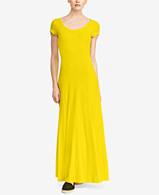 Lauren Ralph Lauren Fit & Flare Maxi Dress