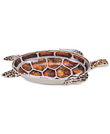 Certified International Sanibel Melamine 3D Turtle Bowl
