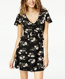 American Rag Juniors' Ruffled Fit & Flare Dress, Created for Macy's