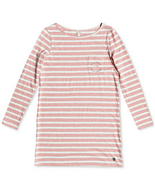 Roxy Spin With Me Striped Dress, Big Girls