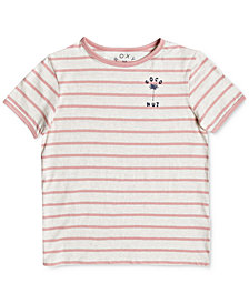 Roxy Telling Stories Cotton T-Shirt, Big Girls