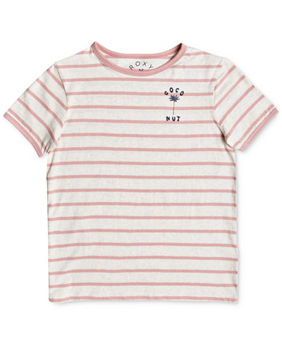 Roxy Telling Stories Cotton T-Shirt, Big Girls