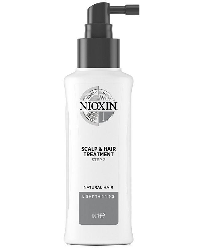 Nioxin System 1 Scalp & Hair Treatment, 3.38-oz., from PUREBEAUTY Salon & Spa