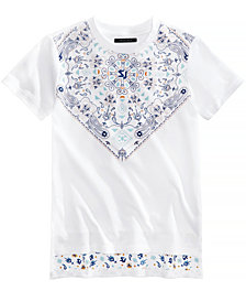 Sean John Graphic-Print Mirage T-Shirt, Big Boys