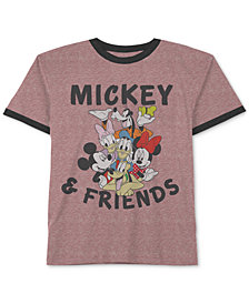 Mickey & Friends Graphic-Print T-Shirt, Little Boys