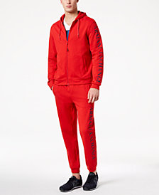 A|X Armani Exchange Men's Logo-Print Sweatsuit