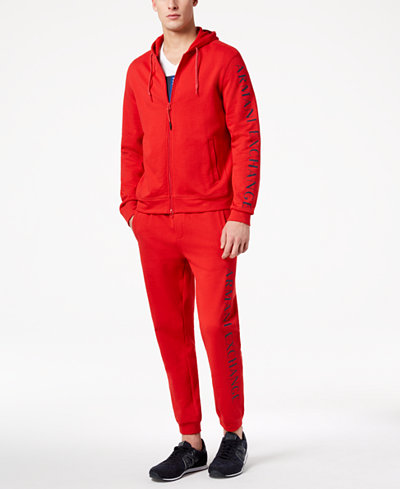 Armani Exchange Men's Logo-Print Sweatsuit