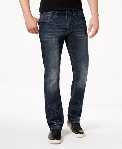 Buffalo David Bitton Men's Straight Fit Six-X Stretch Jeans