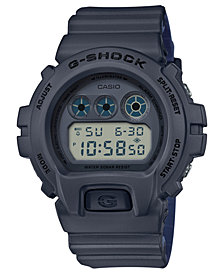 G-Shock Men's Digital Gray Black Resin Strap Watch 50mm