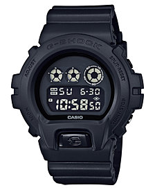 G-Shock Men's Digital Black Resin Strap Watch 50mm