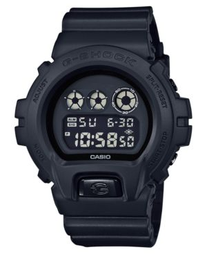 G-SHOCK All Digital Shock Resistant Strap Digital Watch in Black