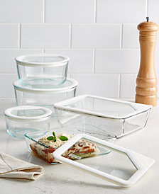 Pyrex 10-Pc. Ultimate White Storage Set