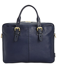 Cole Haan Men's Brayton Leather Attache Case
