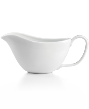 The Cellar Whiteware Gravy Boat, Created for Macy's