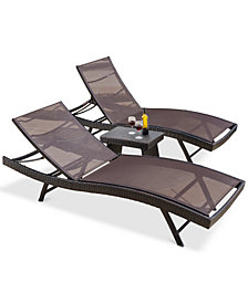 Santa Rosa Outdoor 3-Pc. Set, Quick Ship