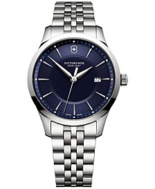 Men's Swiss Alliance Stainless Steel Bracelet Watch 40mm