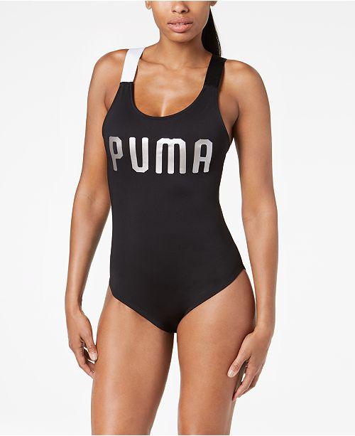 8c3d828b626 Puma En Pointe Cross-Back Bodysuit   Reviews - Tops - Women ...